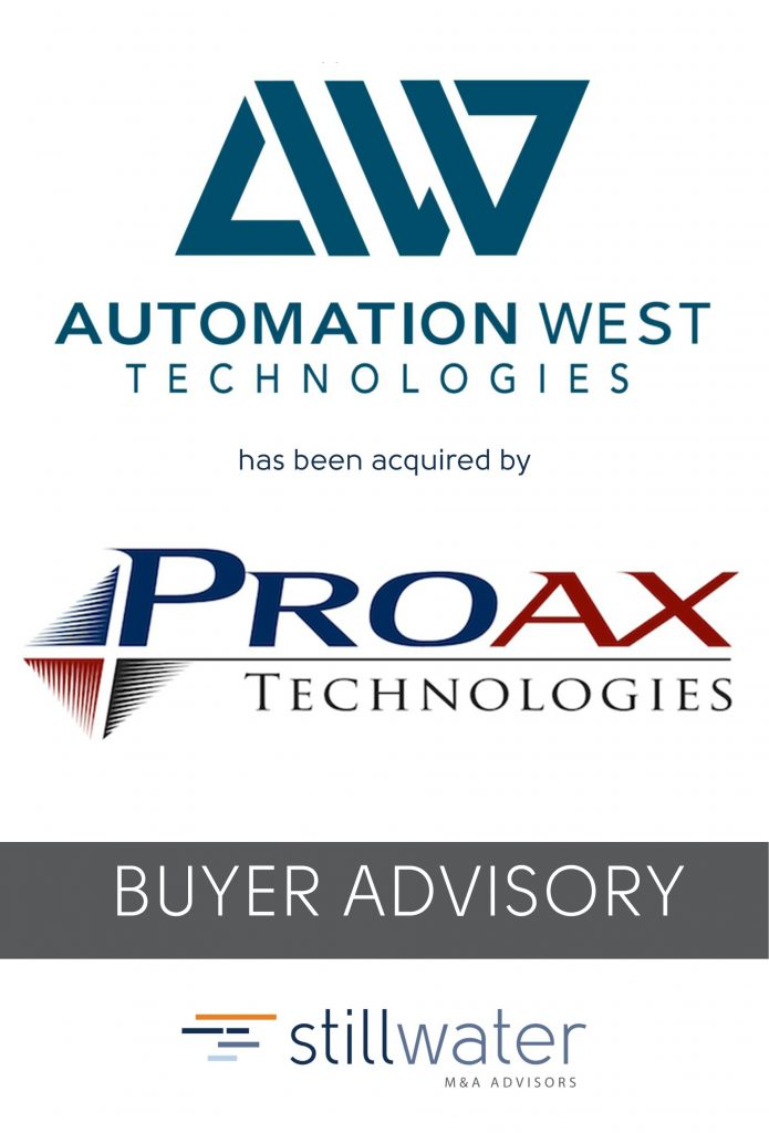 Automation West has been acquired by Proax