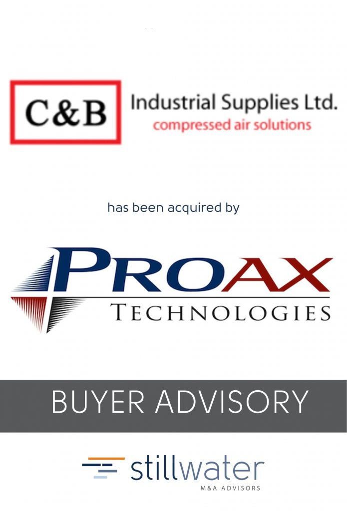 C&B has been acquired by Proax