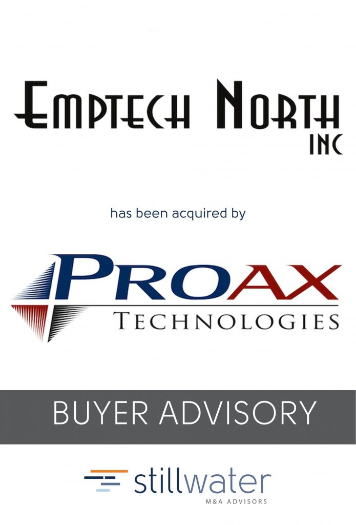 Emptech has been acquired by Proax