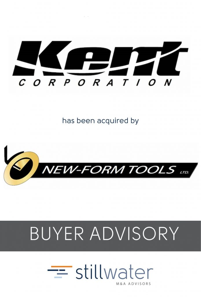 Kent has been acquired by New-Form Tools