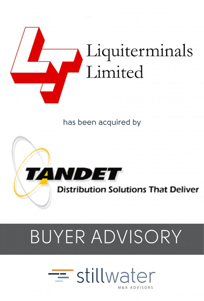 Liquiterminals has been acquired by Tandet