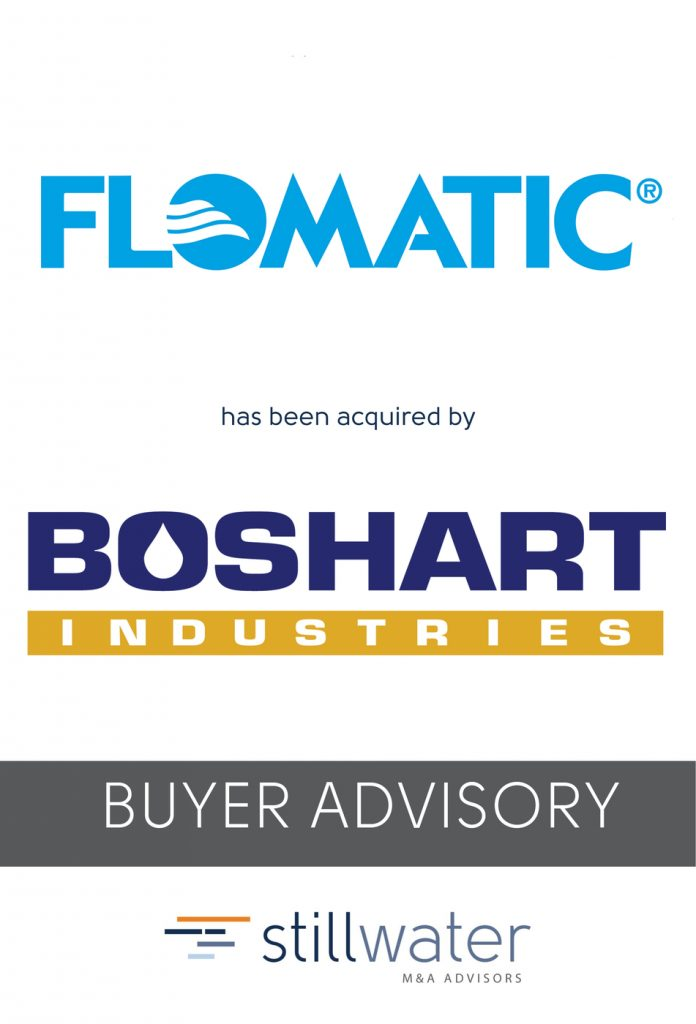 Flomatic has been acquired by Boshart