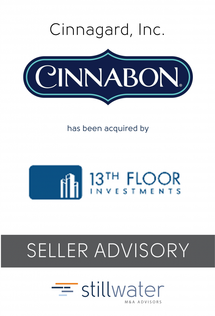 Cinnagard has been acquired by 13th Floor Investments
