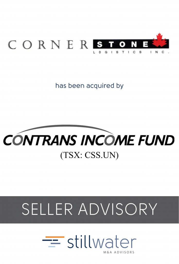 Cornerstone has been acquired by Contrans