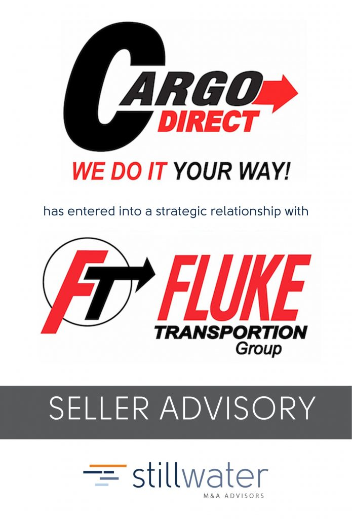 Cargo Direct has entered into a strategic relationship with Fluke Transportation
