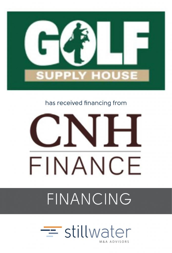 Golf Supply House has been acquired by CNH Finance