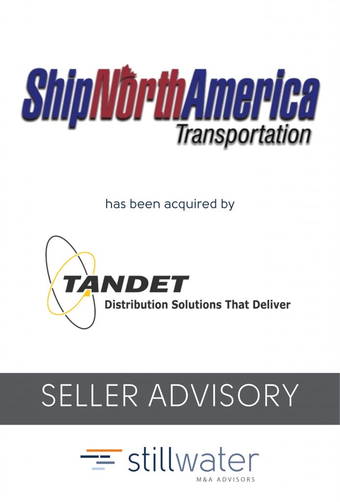 Ship North America has been acquired by Tandet