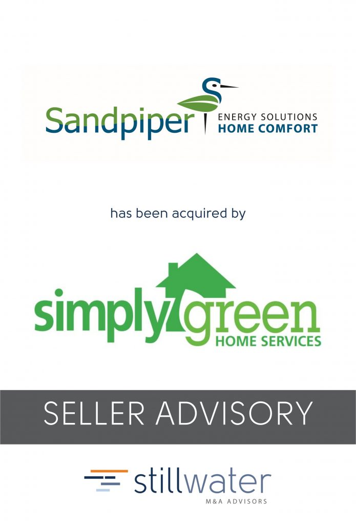 Sandpiper has been acquired by Simply Green