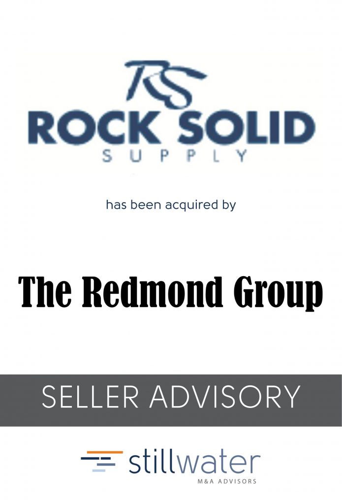 Rock solid has been acquired by The Redmond Group