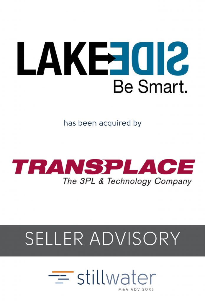 Lakeside has been acquired by Transplace