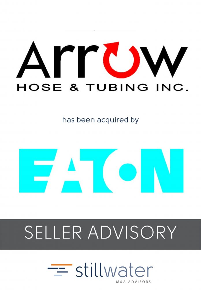 Arrow Hose has been acquired by Eaton