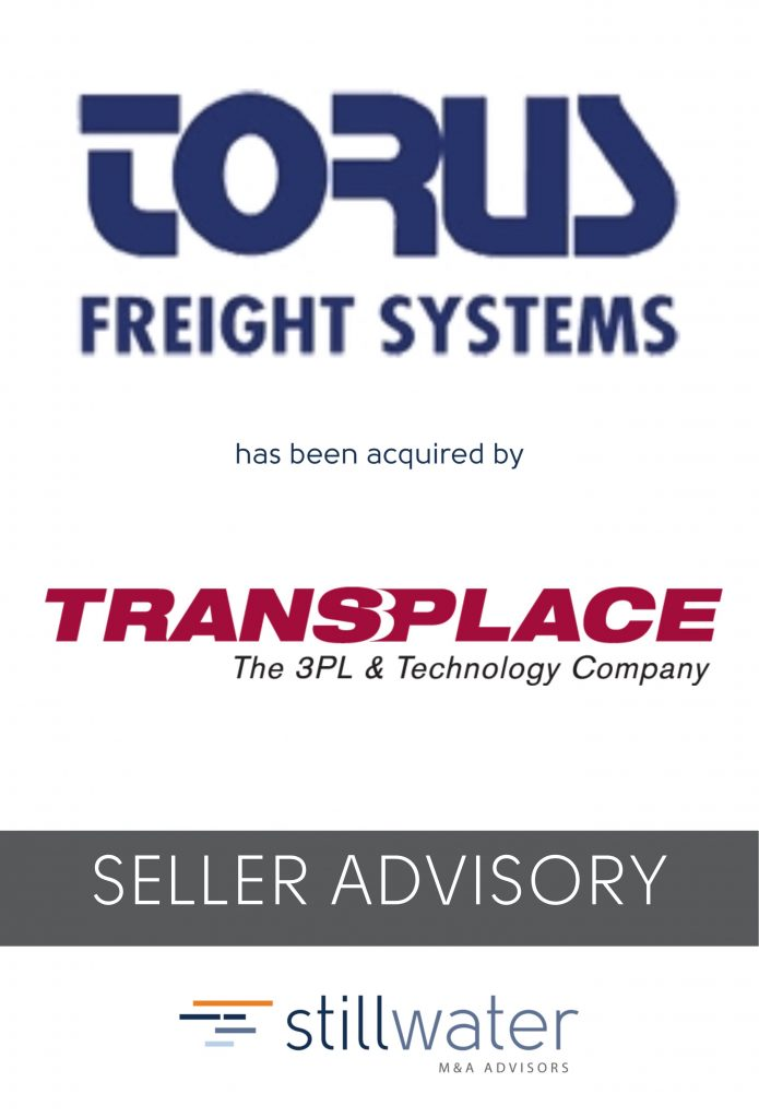Torus has been acquired by Transplace