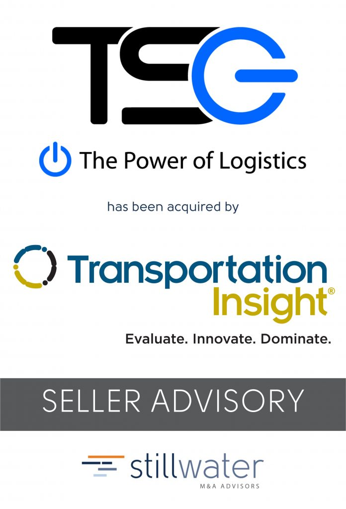TSG had been acquired by Transportation Insight