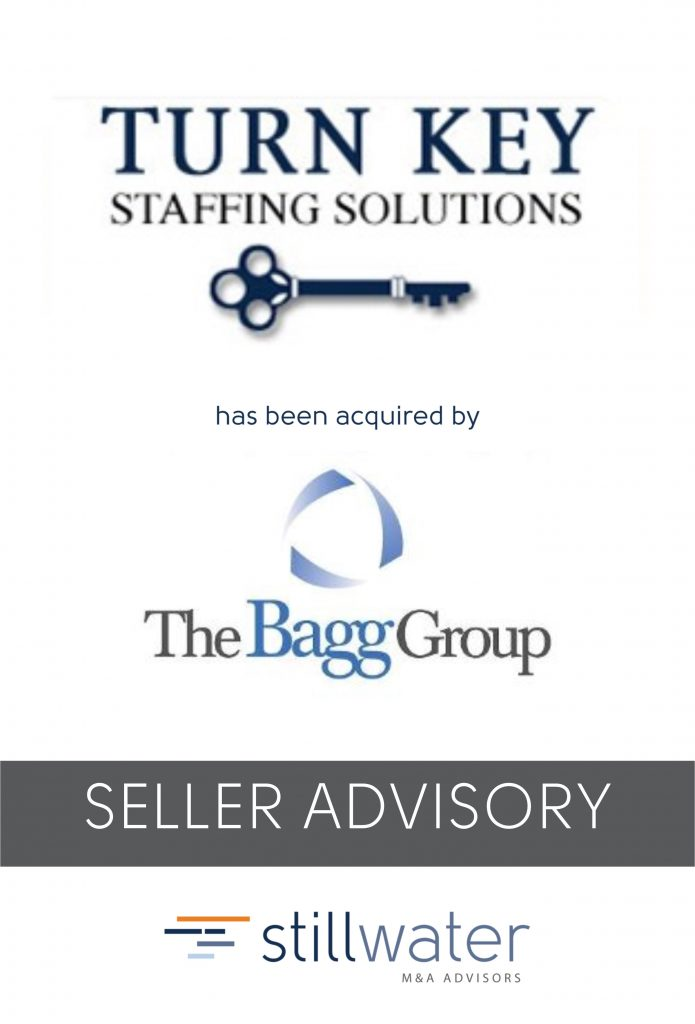 Turn Key Staffing has been acquired by The Bagg Group