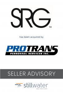SRG has been acquired by ProTrans
